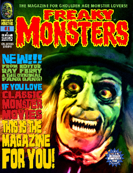 Freaky Monsters #00 - FREE SHIPPING! (POD)