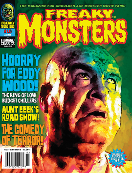 Freaky Monsters #10 - FREE SHIPPING! (POD)