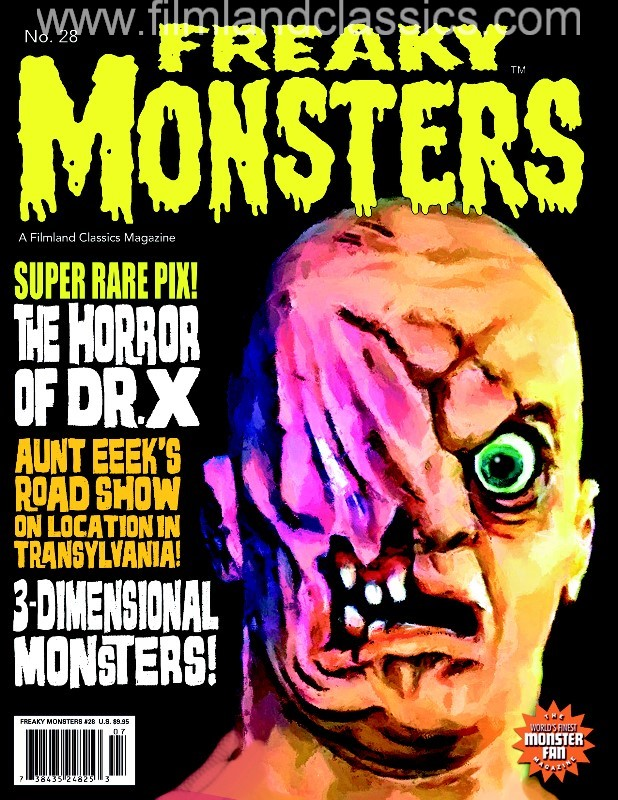 Freaky Monsters #28 (POD)