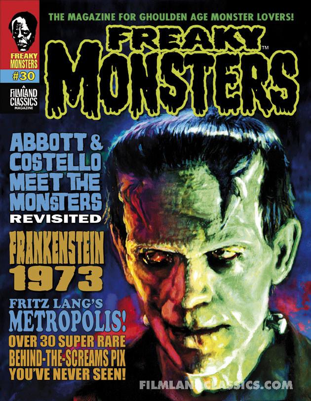 Freaky Monsters #30 (POD)