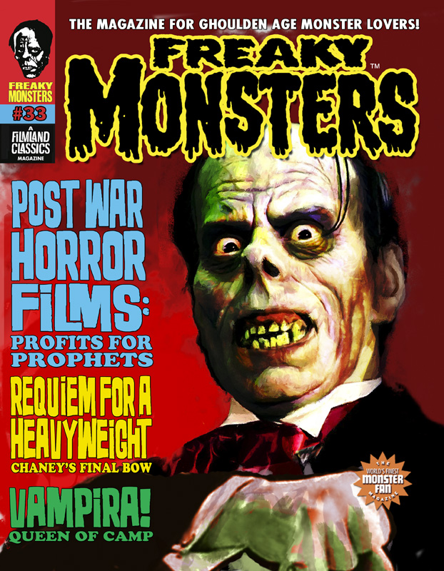 Freaky Monsters #33 -- Pre-Order w/ Bonus Cards & Free Shipping! (USA Only)