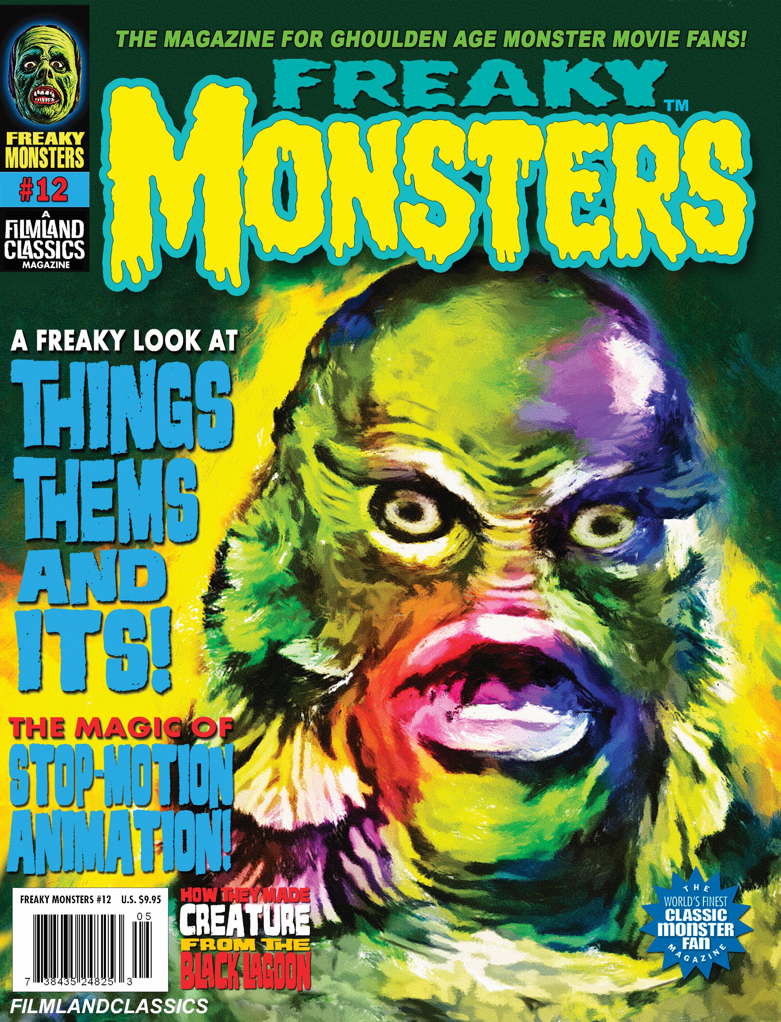 Freaky Monsters #12 (POD)