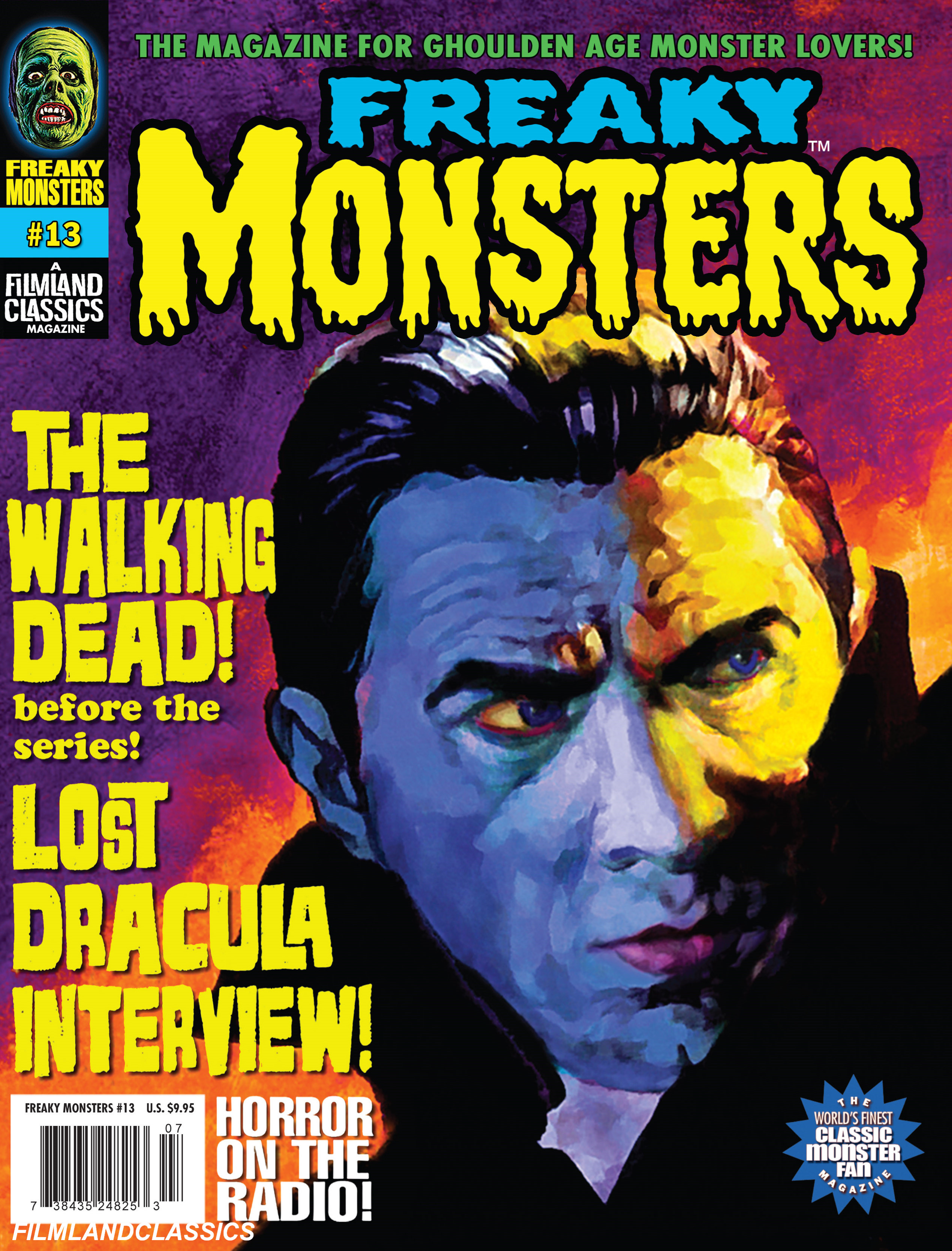 Freaky Monsters #13 (POD)