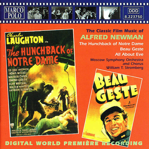 """MUSIC FROM """"THE HUNCHBACK OF NOTRE DAME 1939"""" AUDIO CD (Personal Collection of Ray Ferry)"""