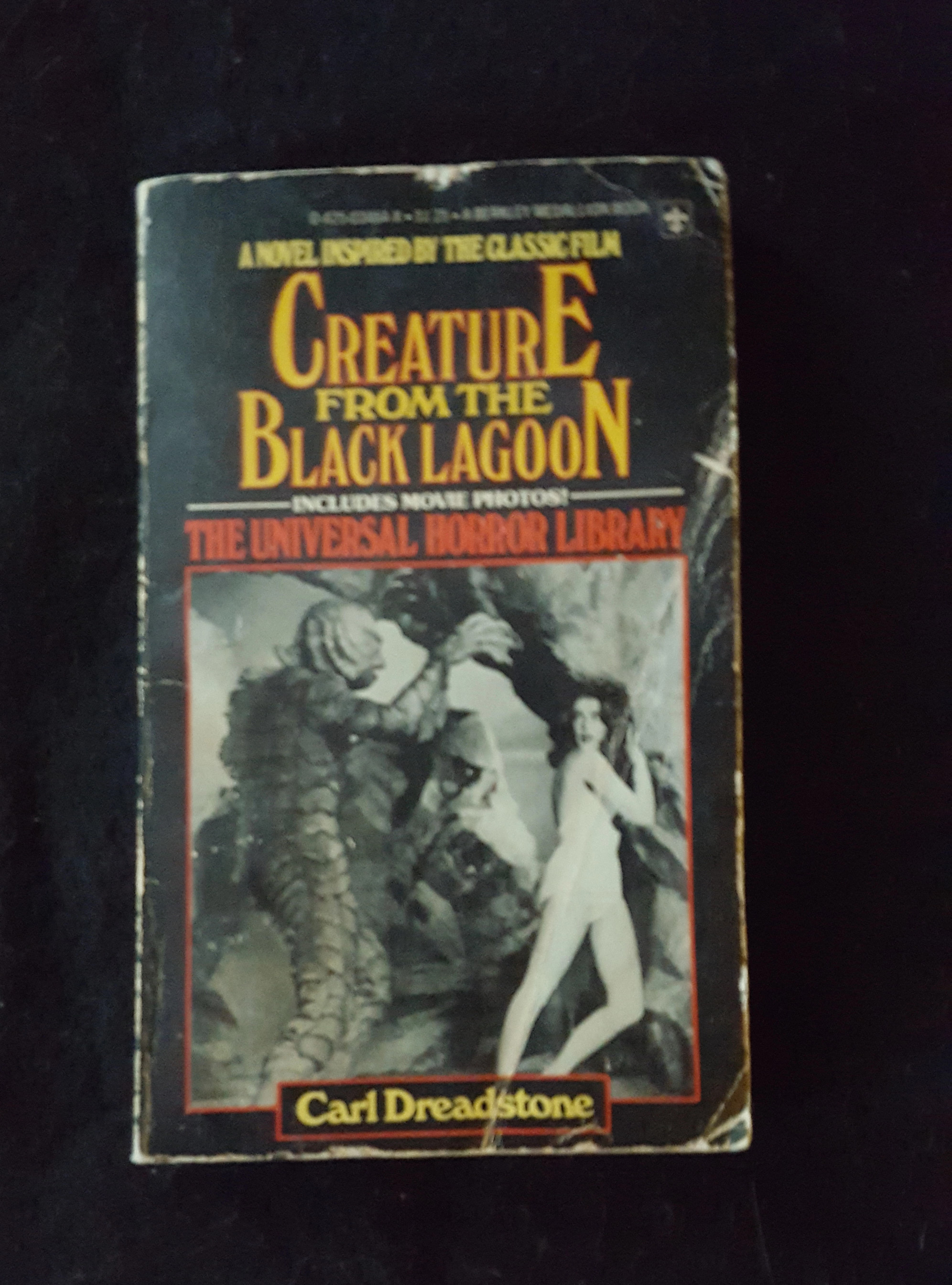 "1977 Vintage First Printing ""Universal Horror Library"" Paperback Pocket Books (Personal collection of Ray Ferry)"