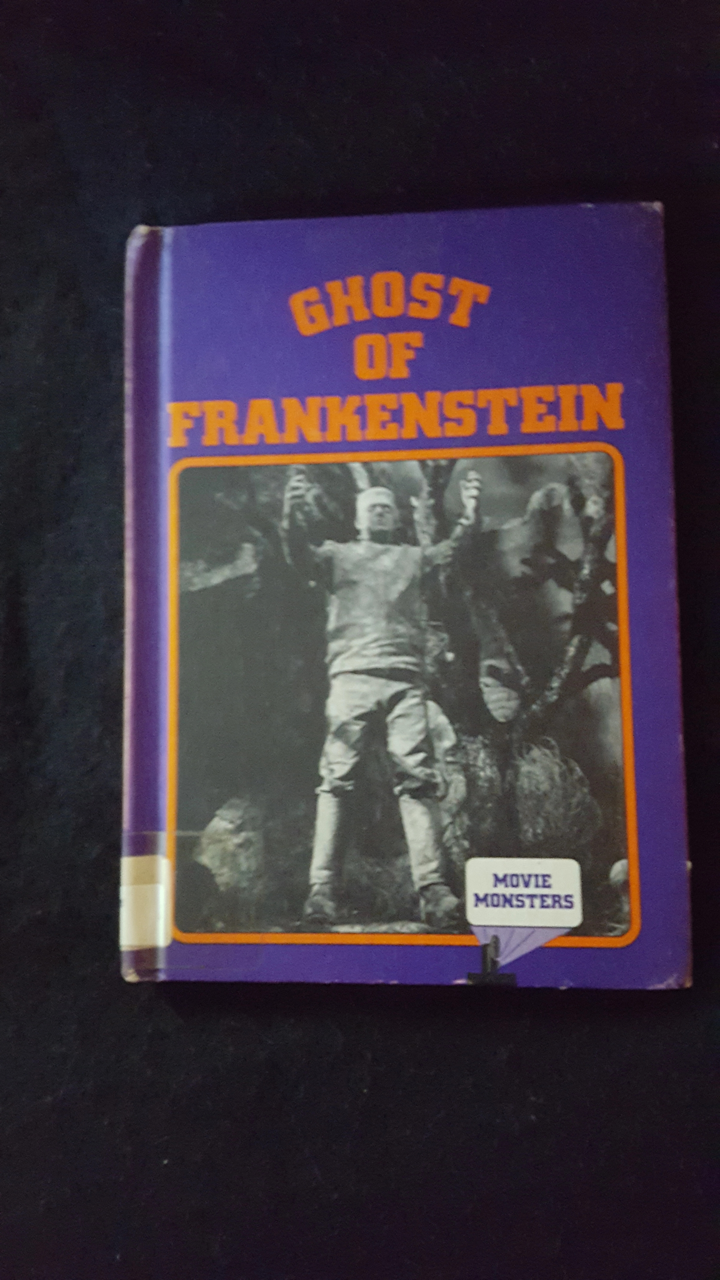 1977 Vintage First Printing Crestwood House Monsters Books (Personal collection of Ray Ferry)
