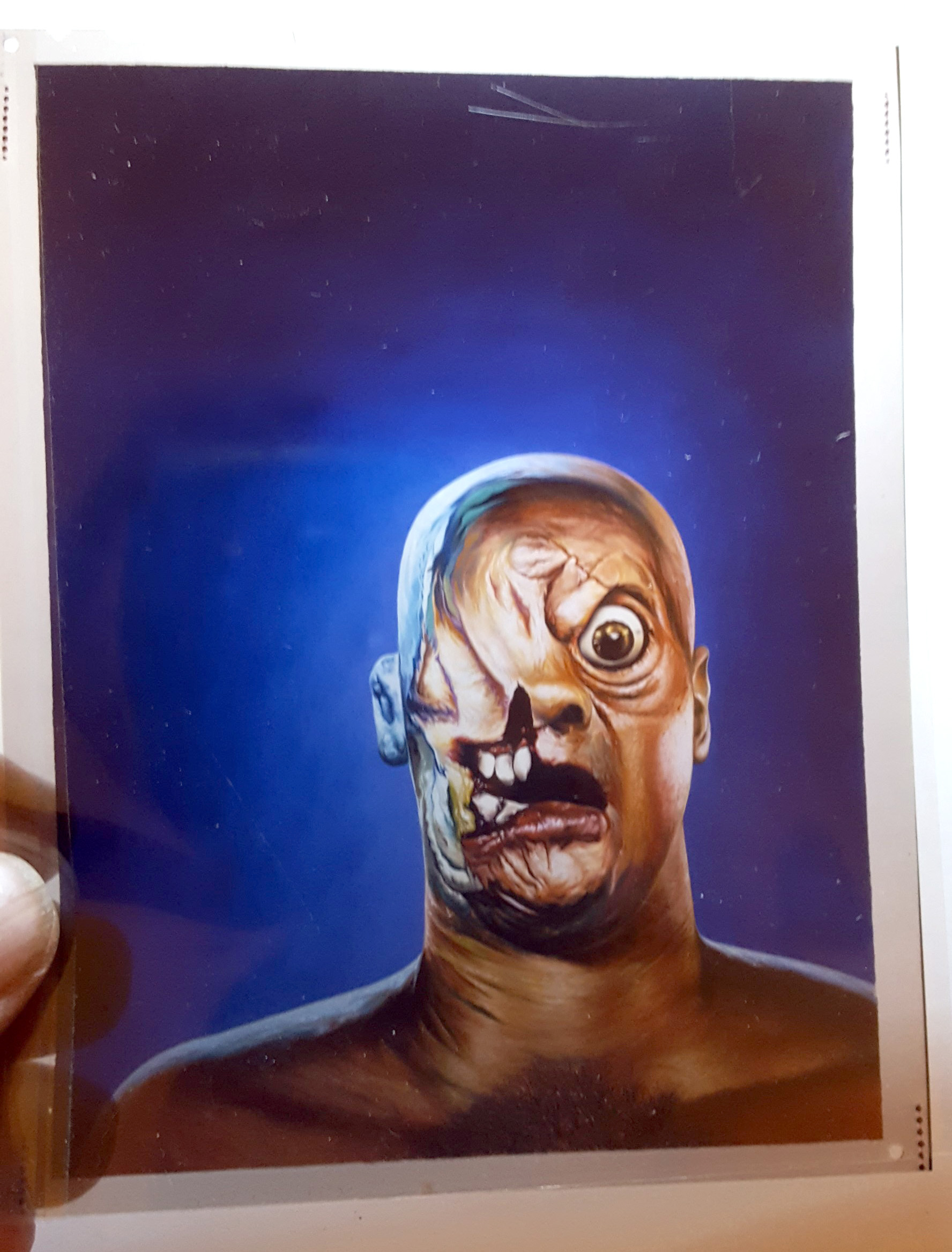 Famous Monsters of Filmland #210 Original Cover Art Transparency