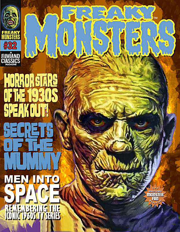 Freaky Monsters #32 -- Pre-Order w/ Bonus Cards & Variant Cover & Free Shipping!