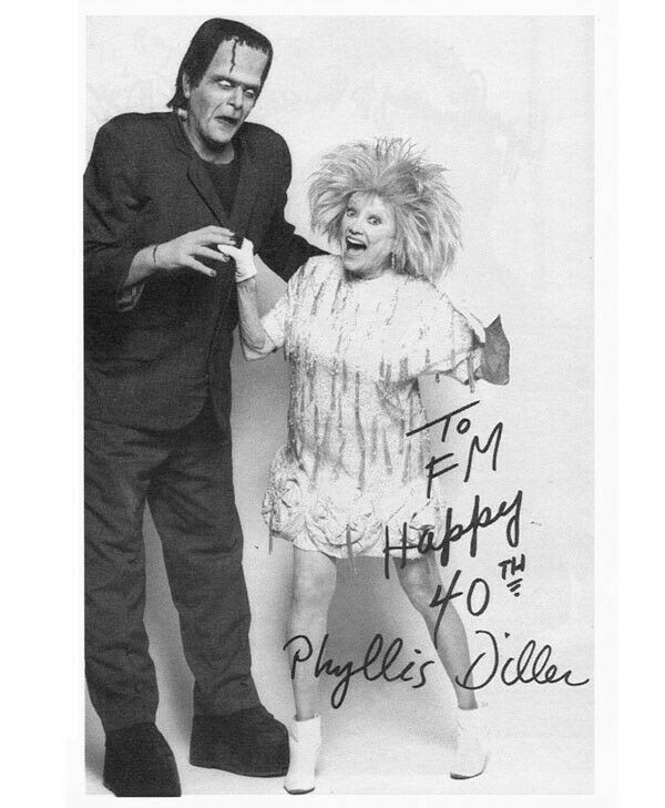 Original photo of PHYLLIS DILLER used in FMOF #221 - 40th Anniverscary Issue