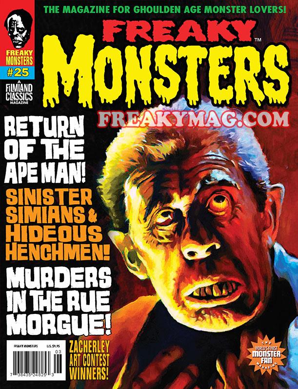 Freaky Monsters #25 (POD)