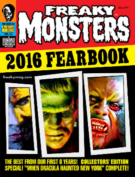 Freaky Monsters 2016 Fearbook (POD)