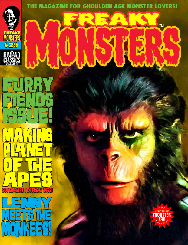 Freaky Monsters #29 (Newest Issue)