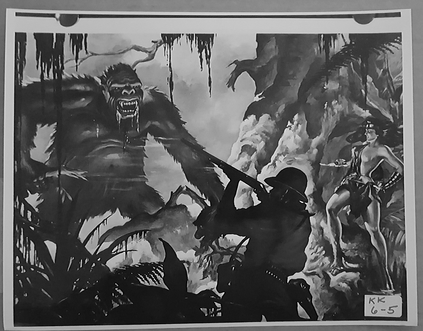 KING KONG (1933) 8x10 Original File Photo 04
