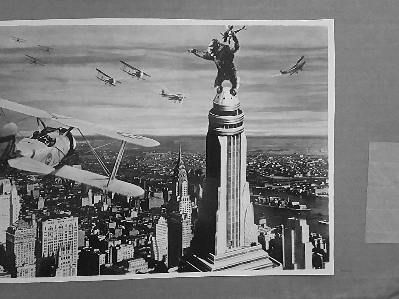 KING KONG (1933) 8x10 Original File Photo 87