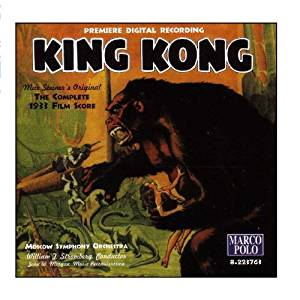 """MUSIC FROM """"KING KONG 1933"""" AUDIO CD (Personal Collection of Ray Ferry)"""