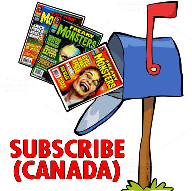 CANADA: Subscribe to Freaky Monsters #28-30