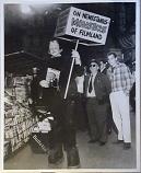 "ORIGINAL 1958 FMOF #2 PRODUCTION PHOTO ""Warren's Monster"""