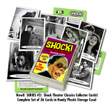 SHOCK THEATER CLASSICS COLLECTOR TRADING CARDS (Set 2)