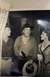 "ORIGINAL LON CHANEY JR. ""rough riders"" TV APPEARANCE PHOTO"
