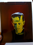 Famous Monsters of Filmland #201 Original Cover Art Transparency