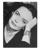 Original photo of BARBARA STEELE used in FMOF #221 - 40th Anniverscary Issue