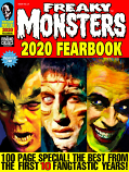 Freaky Monsters 2020 FEARBOOK (Pre-order with Bonus Cards & Free Shipping)