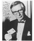 Original photo of KRESKIN used in FMOF #221 - 40th Anniverscary Issue