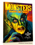 Monsters: Famous and Freaky:  The Classic Horror Art of Arlis  (Pre-Order Premium Collectors Edition w/ Free Dust Jacket, Bonus Print & Free Shipping!)