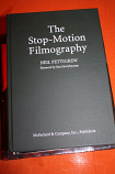 THE STOP MOTION FILMOGRAPHY BY NEIL PETTIGREW-MCFARLAND-HARDCOVER